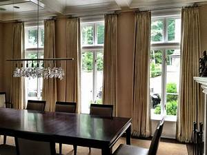Curtains contemporary dining room other metro by for Modern dining room curtains