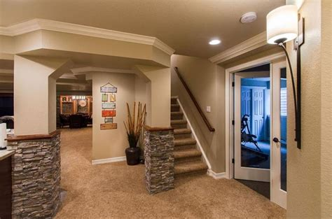 Finished Walkout Basement by How To Design A Finished Basement 27 Luxury Finished