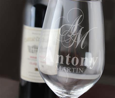 cadeau personnalis 233 grand verre 224 vin grav 233