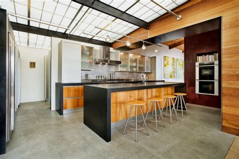 cool industrial kitchen designs  inspire digsdigs