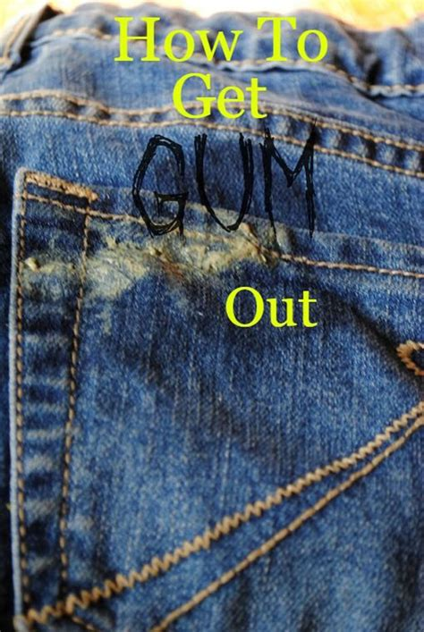 how to get gum out 31 diy hacks for fixing ruined clothes diy joy