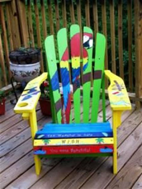 Custom Painted Margaritaville Adirondack Chairs The World S Catalog Of Ideas