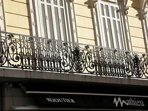 Rambarde Fer Forgé : rambarde de balcon fer forg rambarde et balustrade ~ Dallasstarsshop.com Idées de Décoration