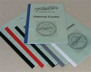 thermal binding covers With types of document binding