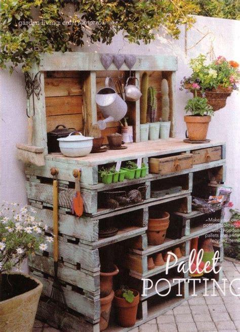 Arredo Giardino Pallet by Cr 233 Ations En Palettes Pour Votre Jardin 20 Id 233 Es