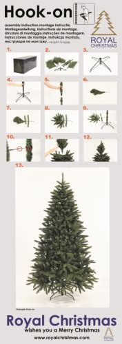 tree assembly guide for artificial tree - Christmas Tree Assembly