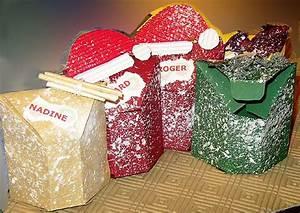 Boite En Carton À Décorer : boites de noel pour decorer votre table de noel gastronomie recettes de cuisine et traditions ~ Melissatoandfro.com Idées de Décoration
