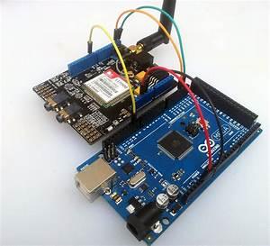Seeed Studio Gprs Shield 1 4 And Arduino Mega 2560