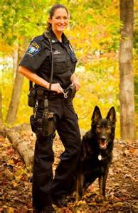 Police K9 German Shepherd Dog