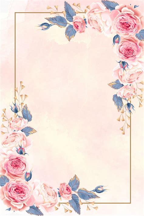 2020 的 European Pattern Wedding Invitation Poster