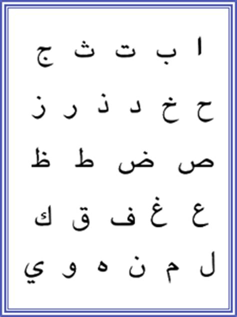 arabic worksheet letters tracing alphabets