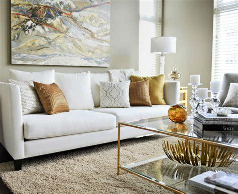 Contemporary Living Room Sofas by Twenty One Two Contemporary Living Room With White