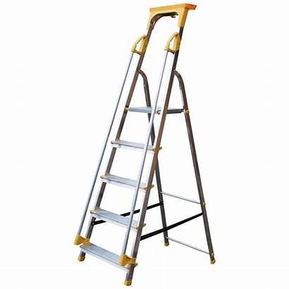 Platform Step Ladders Safety Folding Steps Handrail