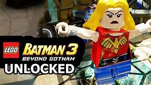LEGO Batman 3: Beyond Gotham - How to Unlock Wonder Girl ...