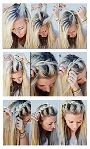 Hairstyles tips and tutorial: Make A Half-Up Side French Braid