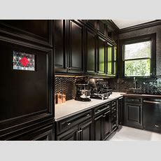 Black Kitchens Are The New White  Hgtv's Decorating