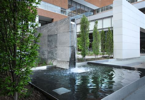 landscape design  johns hopkins hospital