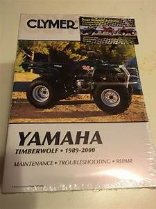 Yamaha Timberwolf Yfb 250 Moto 4 Atv Clymer Workshop