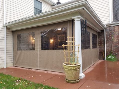 clear drop curtain enclosure kreiders canvas service