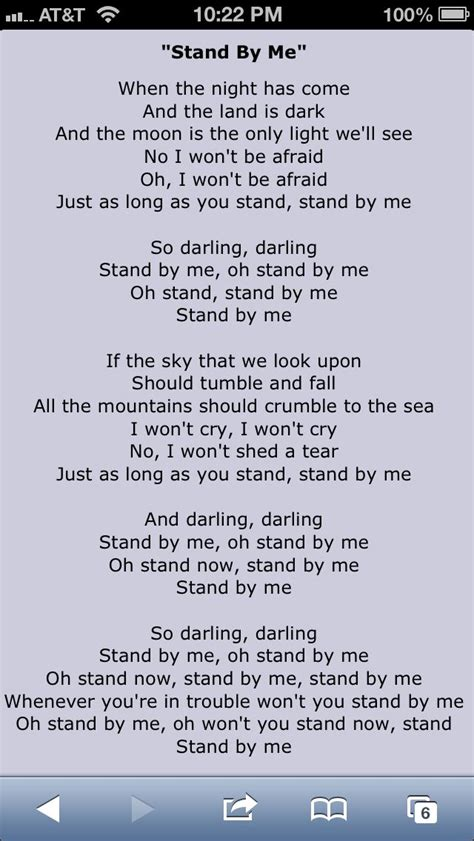 Testo Best Of Me 17 Best Ideas About Stand By Me Lyrics On