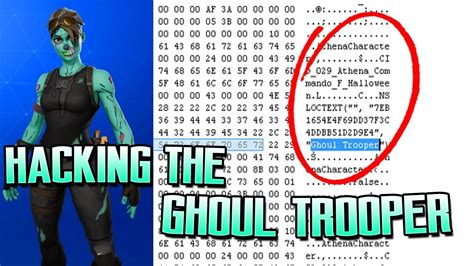 ghoul trooper   hacking skins hacking