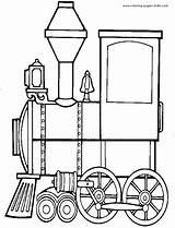 Coloring Train Pages Transportation Printable Engine Trains Transport Land Locomotive Cars Sheet Steam Sheets Sherriallen Clipart Tractor Coloringpages101 Miscellaneous Truck sketch template