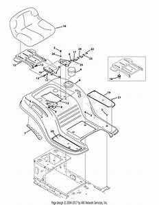 Troy Bilt 13al78kt066 Tb46  2015  Parts Diagram For Seat