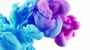 Ink in Water Background (720p) - YouTube