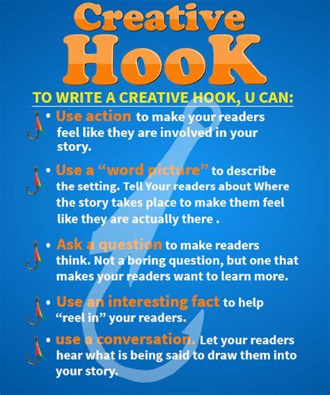 hook definition types writing creating english