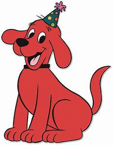 clifford the dog cliparts