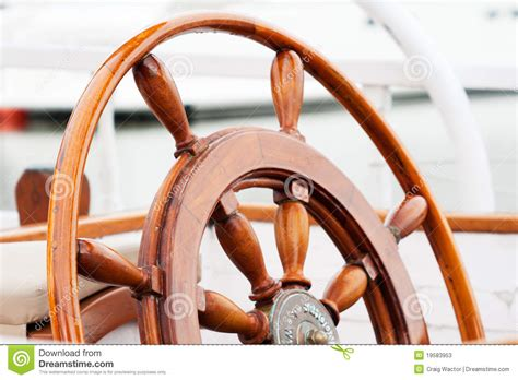 wooden boat wheel stock image image  wooden