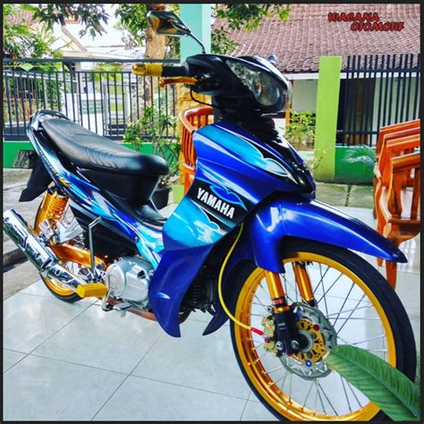 Modif Motor Jupiter Z by 25 Gambar Modifikasi Jupiter Jupiter Z Minimalis Simple