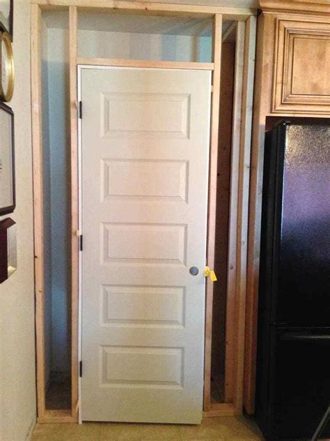 how to make a pantry building a kitchen pantry on a budget