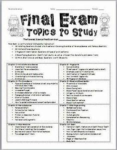 Forensic Science  Semester  Final Exam And Study Guide