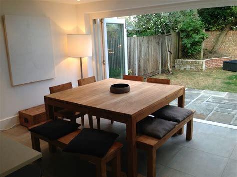 square oak kitchen table best 25 square kitchen tables ideas on