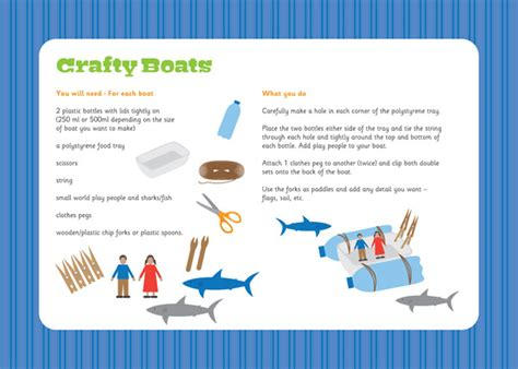 How To Make A Boat Ks1 crafty boats activity free early years primary