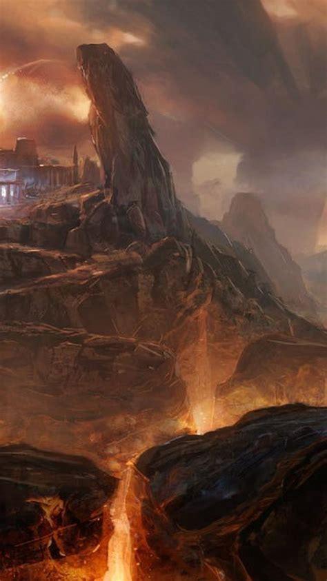 fire hell fantasy art inferno artwork wallpaper