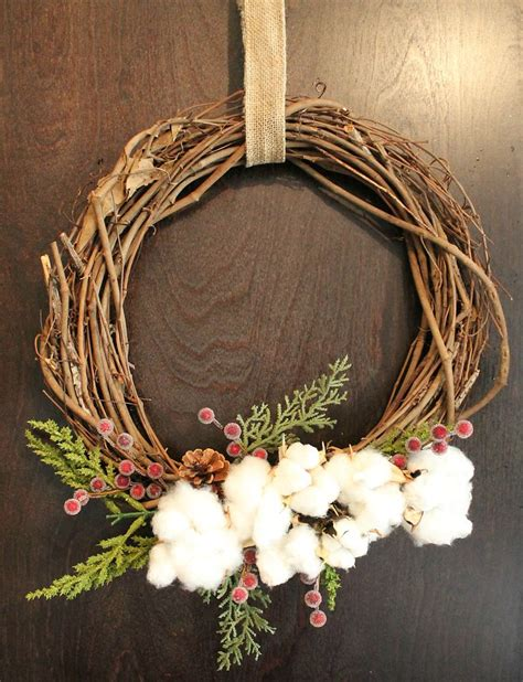 hometalk easy cotton wreaths