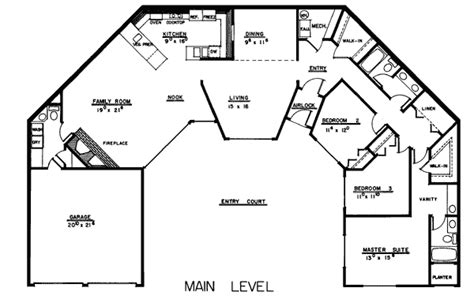 style home plans with courtyard house plan 99720 at familyhomeplans com