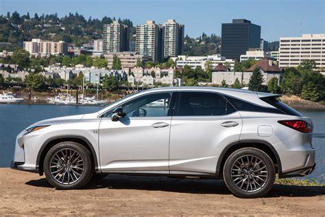 lexus rx 350 2016 lexus rx 350 f sport review plush luxury with