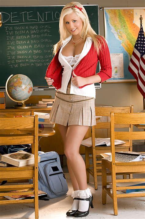 Spencer Scott Naughty Blond Schoolgirl