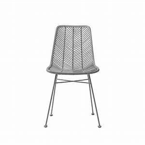 Chaise Rotin Design : lena chaise rotin tress design bloomingville ~ Teatrodelosmanantiales.com Idées de Décoration