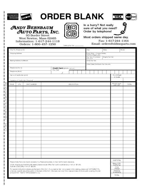 Purchase Order Template - 75 Free Templates in PDF, Word