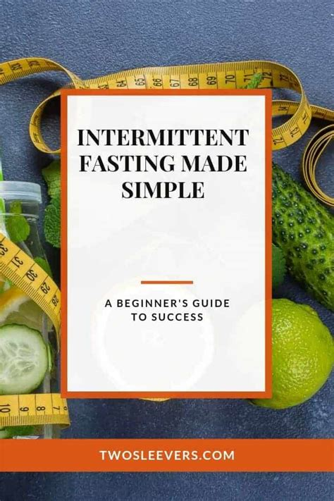 intermittent fasting  simple  beginners guide