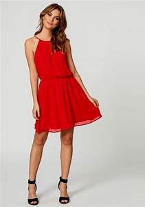 Casual Red Summer Dress | Fashion Dresses For Women's Wardrobe