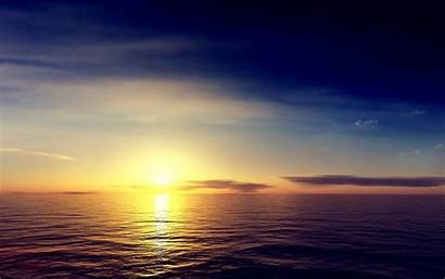 Wallpapers Sunrise Sea Skyline Android Iphone