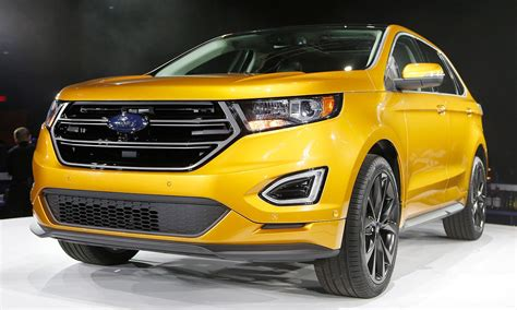 Ford Aims Edge Suv At German Premium Brands