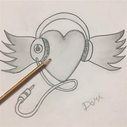 Cool Drawings to Draw Heart