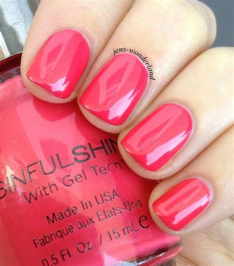 sinful colors gel tech sinful shine with gel tech all the rage nails galore