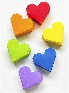 Comment Faire Une Boite En Origami : origami facile boite en coeur ~ Dallasstarsshop.com Idées de Décoration